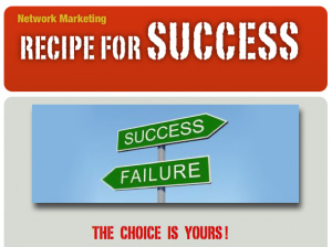 Recipe to Success