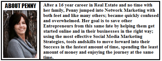 social media to grow your business Penny